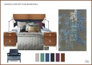 CONCEPT FOR BEDROOM 2