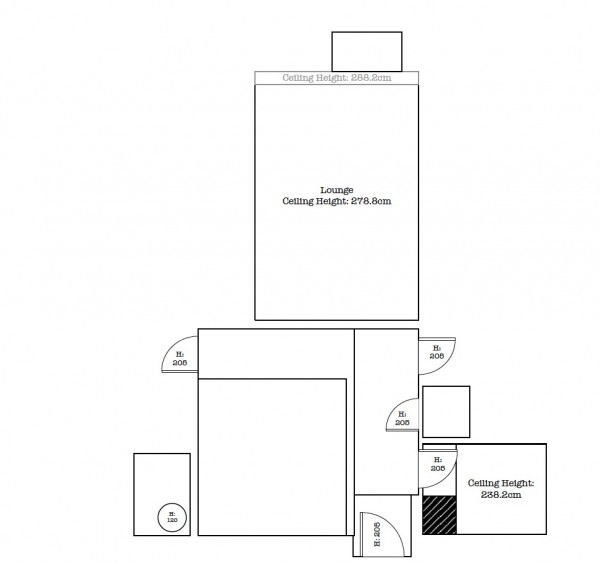 Interior Design Survey Plan