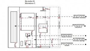 Designing Bathrooms - Elevation C