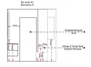 Designing Bathrooms - Elevation D