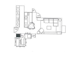 Electrical Plan Design for Small Apartment | Kia Designs