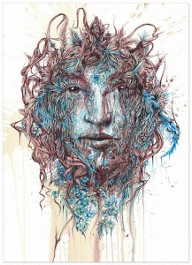 Giclee print on Hahnemuhle 310gsm German Etching Paper with Hand Torn Edges