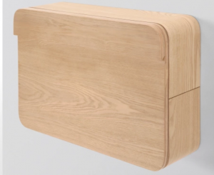 Cute and Compact, made with Ash Veneered Plywood