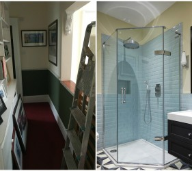 En Suite Before and After