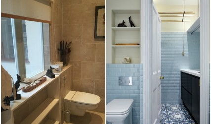 Family Bathroom and Utility - Before and After