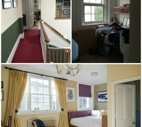 Guest Suite in Regents Park Home - Before and After