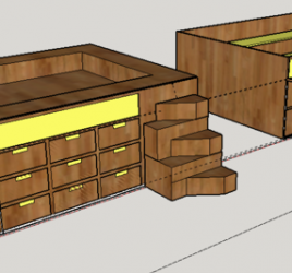 Bespoke Furniture Drawing