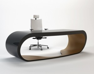 google-desk-black