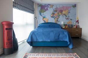 Interior Design Paddington Teenager Bedroom Double Bed