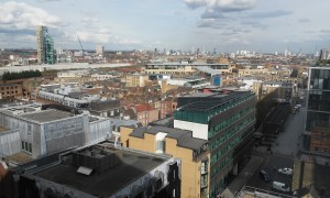 london view from WeWork Spitafields