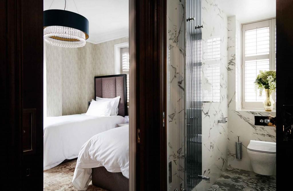 Knightsbridge Interior Design - Twin Bed Shower