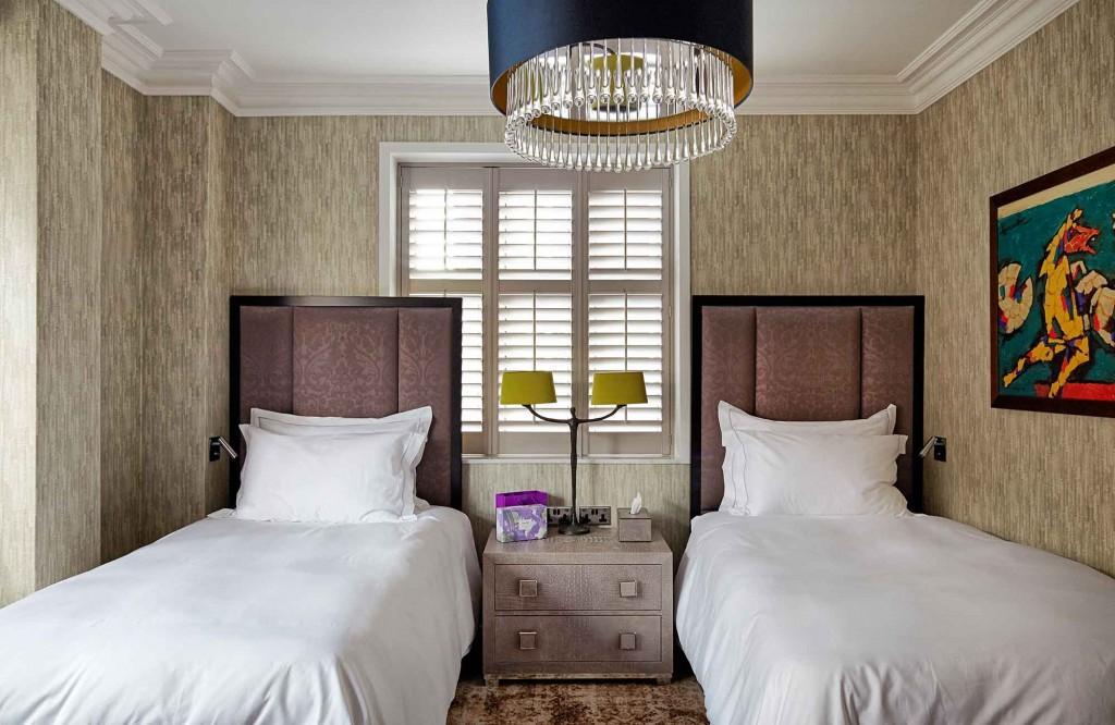 Knightsbridge Interior Design -Twin Room
