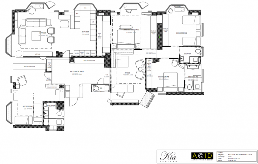 Our Designers Work Out the Perfect Interior Layout for your home