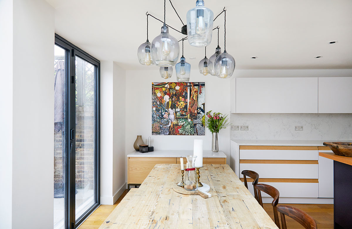 Sensational Kitchen Diner Extension For Family Home In N16 Kia Designs Home Interior And Landscaping Elinuenasavecom
