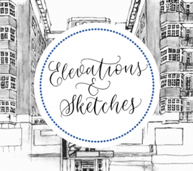 Elevations and Sketches