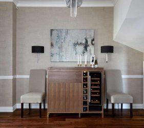 Hampstead Interior Design - Dining Room Art