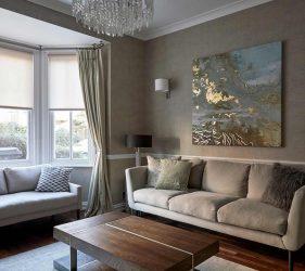 Hampstead Interior Design - Living Room Art