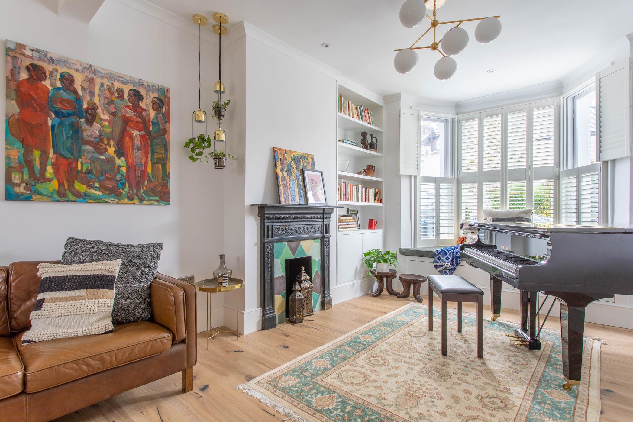1 Wimbledon Interior Design Music Grand Piano