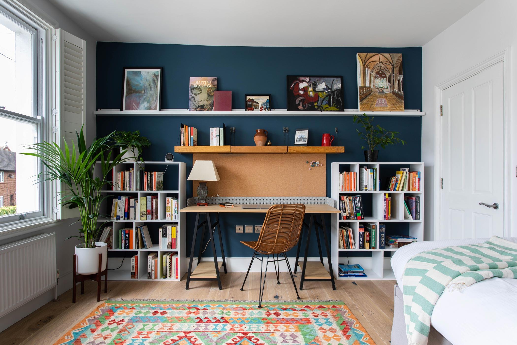 Wimbledon Interior Design London Bedroom Study